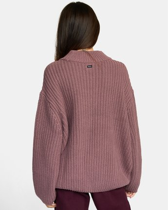 2 FITZ SWEATER Purple AVJSW00103 RVCA