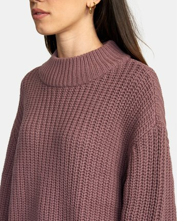 3 FITZ SWEATER Purple AVJSW00103 RVCA