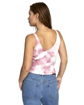 1 CAPTURED TIE DYE TOP Grey AVJSW00119 RVCA