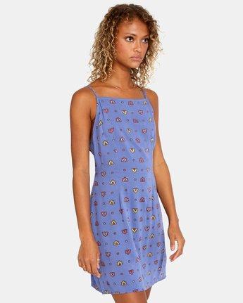 4 Timeout Dress Blue AVJWD00156 RVCA