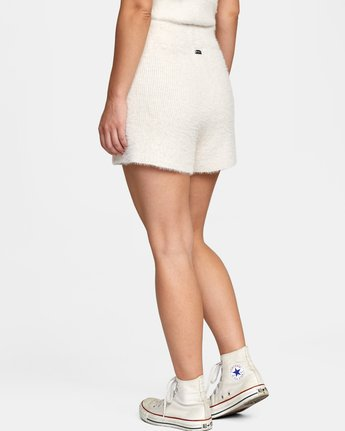 4 Cabin Fever Knit Short White AVJWH00103 RVCA