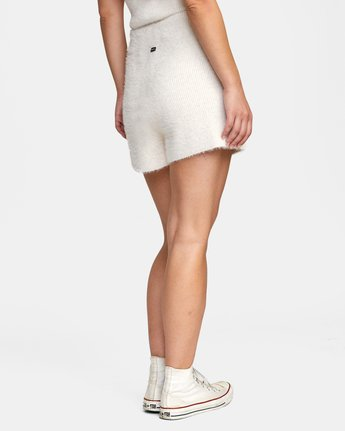 5 Cabin Fever Knit Short White AVJWH00103 RVCA