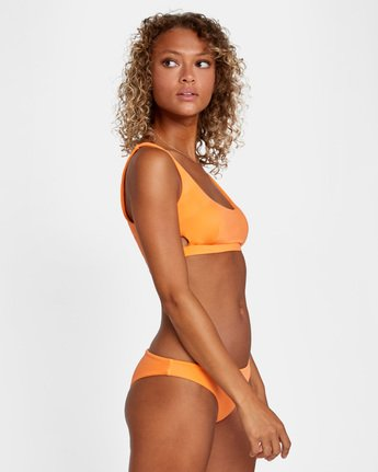 3 SOLID BRALETTE BIKINI TOP Orange AVJX300116 RVCA