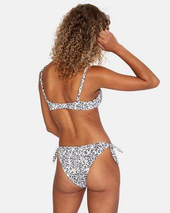 1 Animal Instincts Trilette Bikini Top White AVJX300132 RVCA