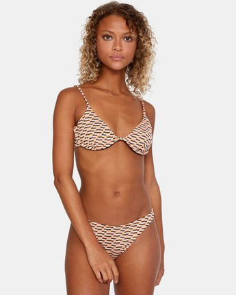1 Cosmic Way Underwire Bikini Top White AVJX300168 RVCA
