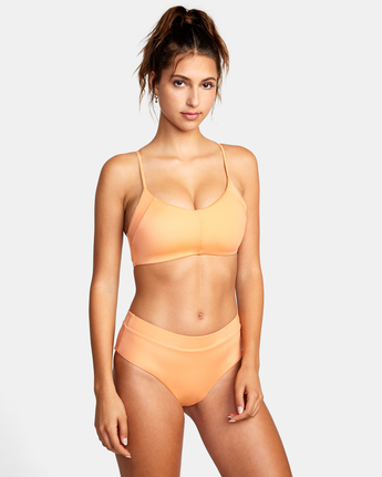 4 WILDER CROSSBACK TOP Orange AVJX300185 RVCA
