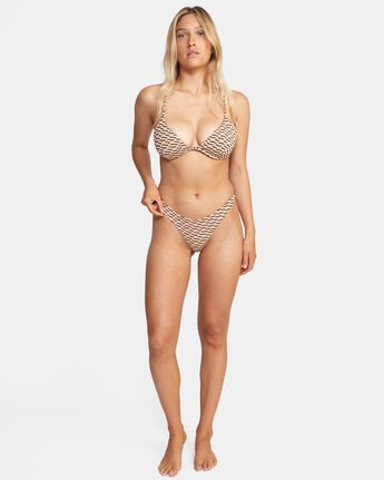 2 Cosmic Way Underwire D-Cup Bikini Top White AVJX300201 RVCA