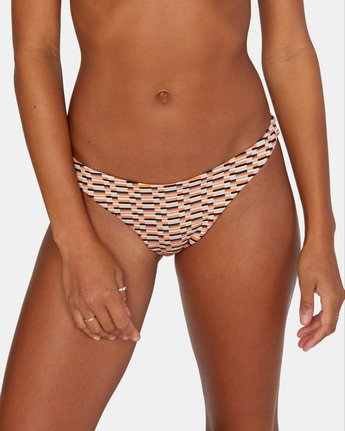 5 Cosmic Way Skimpy Bikini Bottom White AVJX400164 RVCA