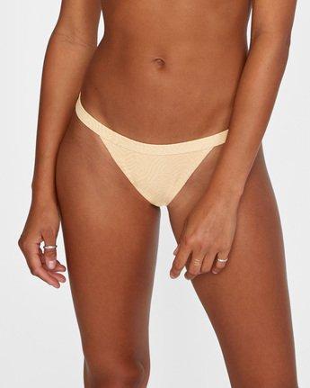 4 Run Wild Cheeky Bikini Bottom Red AVJX400168 RVCA