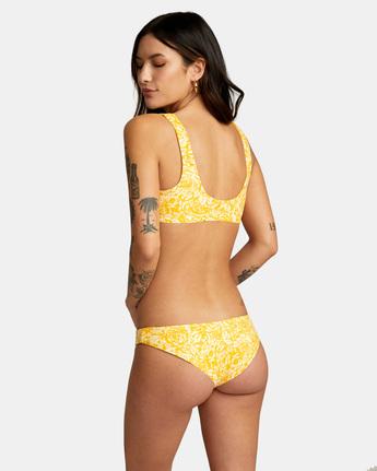 4 Forever Cheeky Bikini Bottom Yellow AVJX400175 RVCA