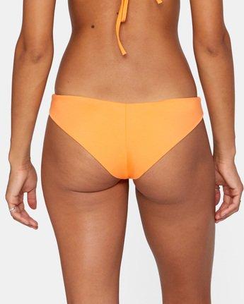 5 SOLID CHEEKY BIKINI BOTTOM Orange AVJX400189 RVCA