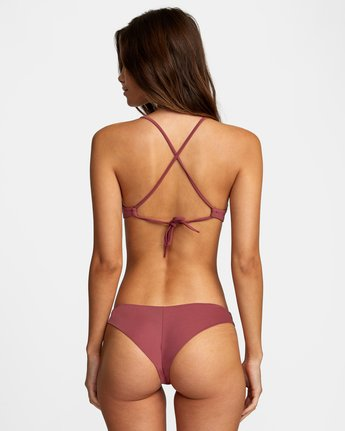 0 SOLID CHEEKY BIKINI BOTTOM Purple AVJX400189 RVCA