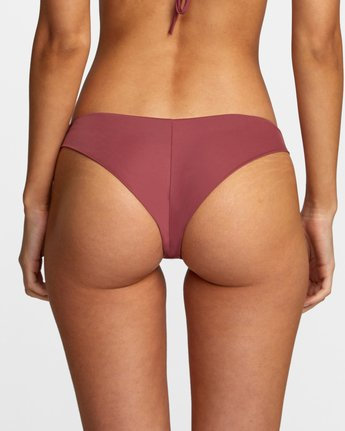 4 SOLID CHEEKY BIKINI BOTTOM Purple AVJX400189 RVCA