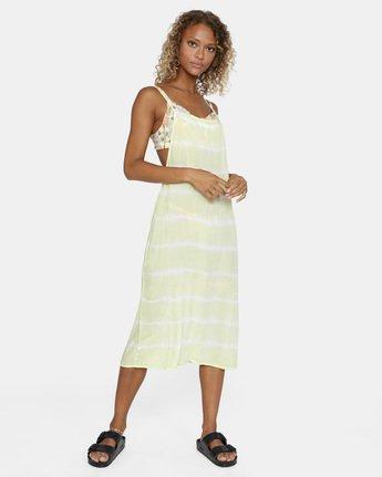 7 Island Hopper Dress Green AVJX600107 RVCA
