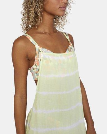 4 Island Hopper Dress Green AVJX600107 RVCA
