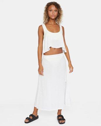 8 After Hours Skirt White AVJX600112 RVCA