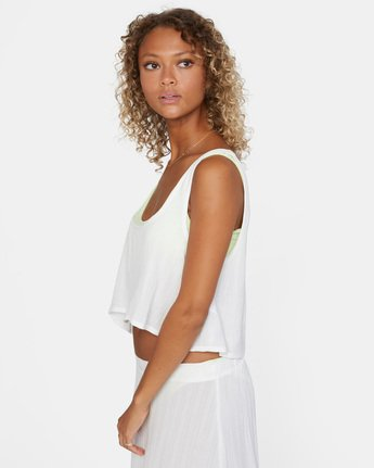 5 After Hours Top White AVJX600113 RVCA