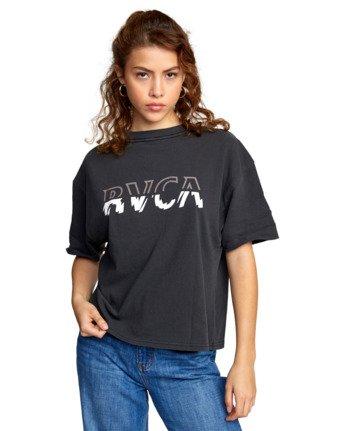 6 FRACTURE TEE Black AVJZT00107 RVCA