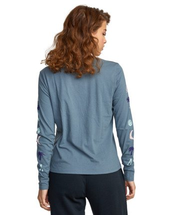 6 COPA LONG SLEEVE TEE Multicolor AVJZT00122 RVCA