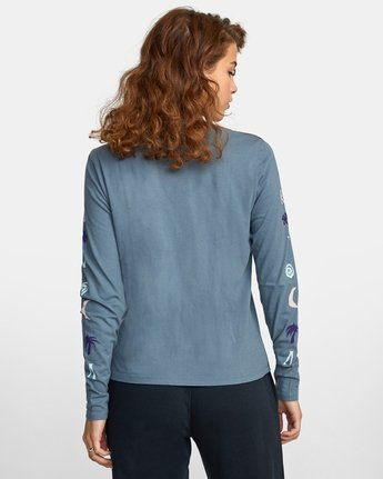 1 COPA LONG SLEEVE TEE Multicolor AVJZT00122 RVCA