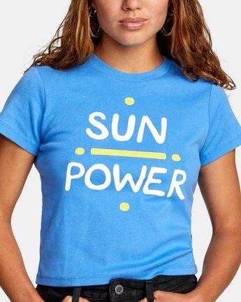 2 SUN POWER SHORT SLEEVE TEE Multicolor AVJZT00196 RVCA