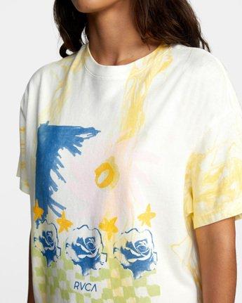 6 Abstract Dreams Short Sleeve Tee White AVJZT00252 RVCA