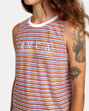 5 Constructed Tank Top White AVJZT00274 RVCA
