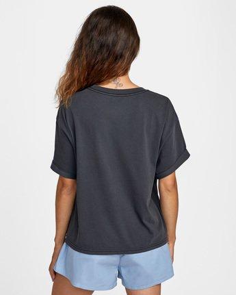 1 PTC Roll It Short Sleeve Tee Black AVJZT00276 RVCA
