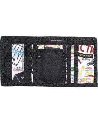2 Espo Trifold Wallet Silver AVYAA00112 RVCA