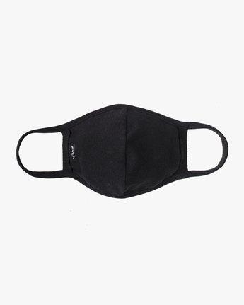 0 RVCA Face Mask Black AVYAA00119 RVCA