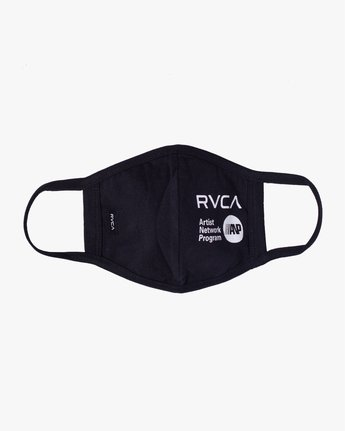 0 RVCA Face Mask Black AVYAA00119 RVCA