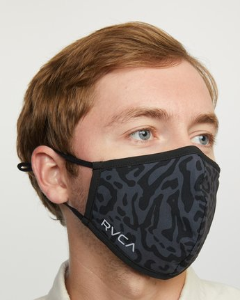 9 YOGGER ADJUSTABLE MASK  Black AVYAA00150 RVCA