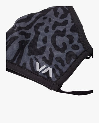 3 YOGGER ADJUSTABLE MASK  Black AVYAA00150 RVCA