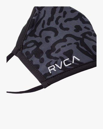 5 YOGGER ADJUSTABLE MASK  Black AVYAA00150 RVCA