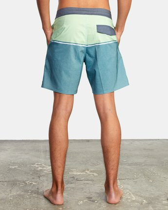 "2 COUNTY BOARDSHORT 18"" Blue AVYBS00120 RVCA"