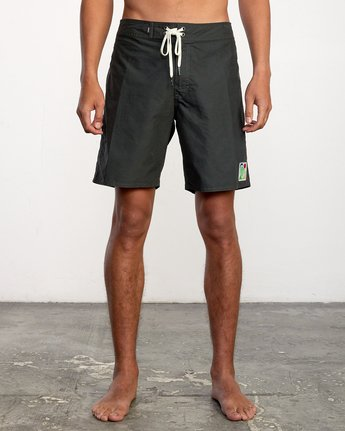"1 ELDER BOARDSHORT 18"" Black AVYBS00124 RVCA"
