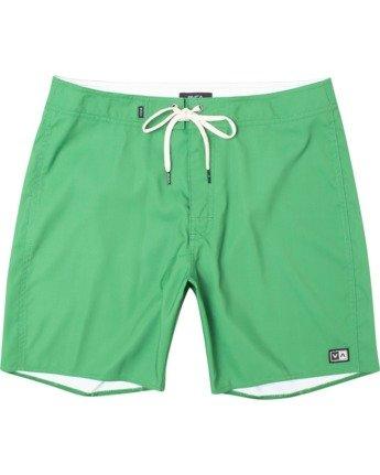 "0 Stanton Boardshort 17"" Green AVYBS00145 RVCA"