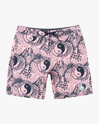RVCA TOWN COUNTRY TRUNK 18  AVYBS00198