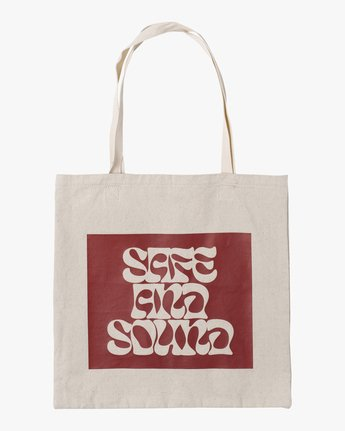 1 SAFE AND SOUND TOTE BAG  AVYBT00103 RVCA