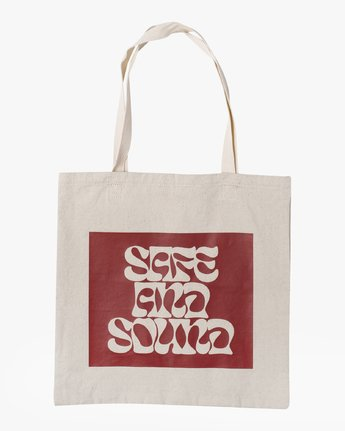 3 SAFE AND SOUND TOTE BAG  AVYBT00103 RVCA