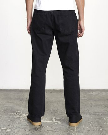 2 BAKERVCA AMERICANA RELAXED FIT DENIM Black AVYDP00100 RVCA