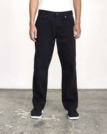 1 BAKERVCA AMERICANA RELAXED FIT DENIM Black AVYDP00100 RVCA