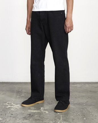 3 BAKERVCA AMERICANA RELAXED FIT DENIM Black AVYDP00100 RVCA