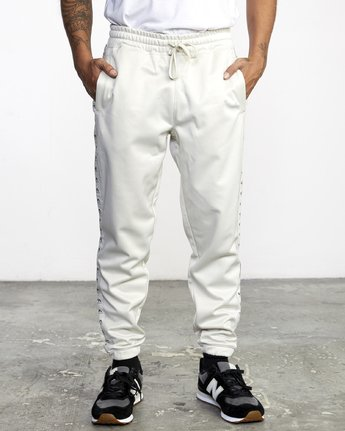 1 NORE TRACK PANT Silver AVYFB00104 RVCA