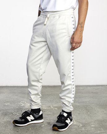 3 NORE TRACK PANT Silver AVYFB00104 RVCA