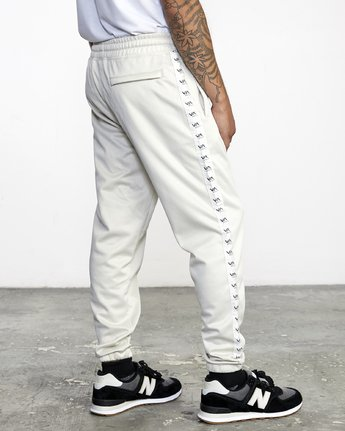 5 NORE TRACK PANT Silver AVYFB00104 RVCA