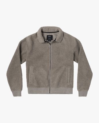 0 ERIE ZIP JACKET Beige AVYFT00110 RVCA