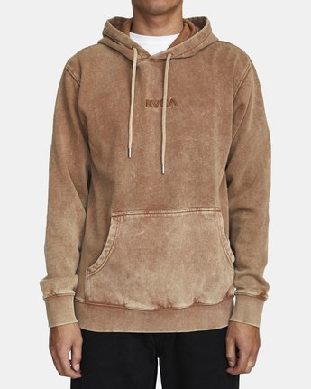 0 MINERAL HOODIE Brown AVYFT00111 RVCA