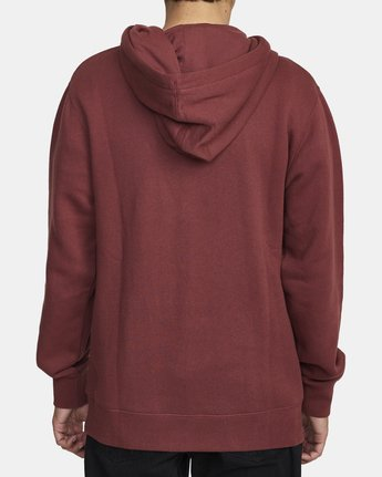 2 TORRESDALE HOODIE Red AVYFT00115 RVCA