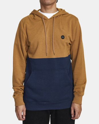 0 CARSON HOODIE Brown AVYFT00116 RVCA
